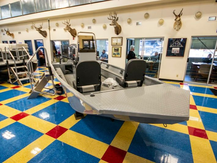 2021 Smoker Craft boat for sale, model of the boat is Sportsman 1660 & Image # 12 of 12