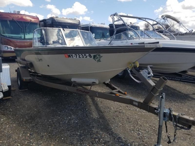 2000 Fisher boat for sale, model of the boat is AVENGER 17 AVENGER SPORT & Image # 2 of 10