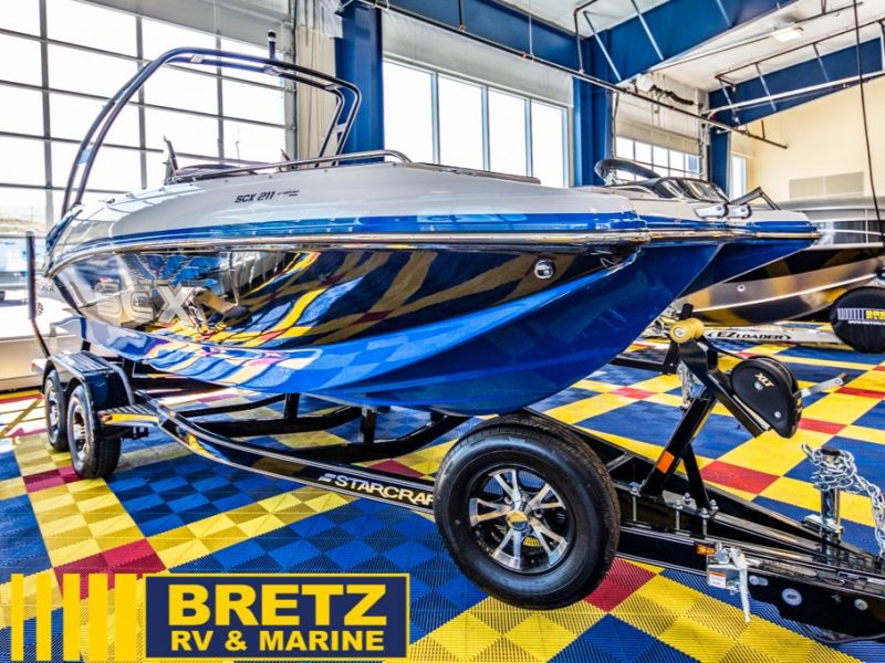 2021 Starcraft boat for sale, model of the boat is SCX Surf Series 211 l/O Surf & Image # 1 of 17