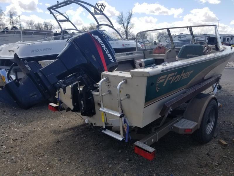 2000 Fisher boat for sale, model of the boat is AVENGER 17 AVENGER SPORT & Image # 3 of 10