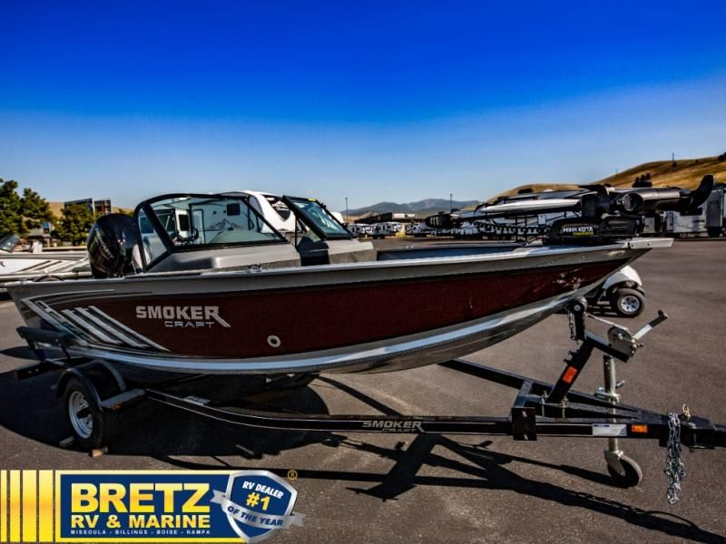 2021 Smoker Craft boat for sale, model of the boat is Pro Angler 162 & Image # 1 of 15