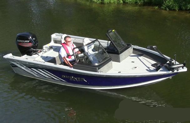 2018 Smoker Craft boat for sale, model of the boat is Pro Angler XL 172 XL & Image # 1 of 6