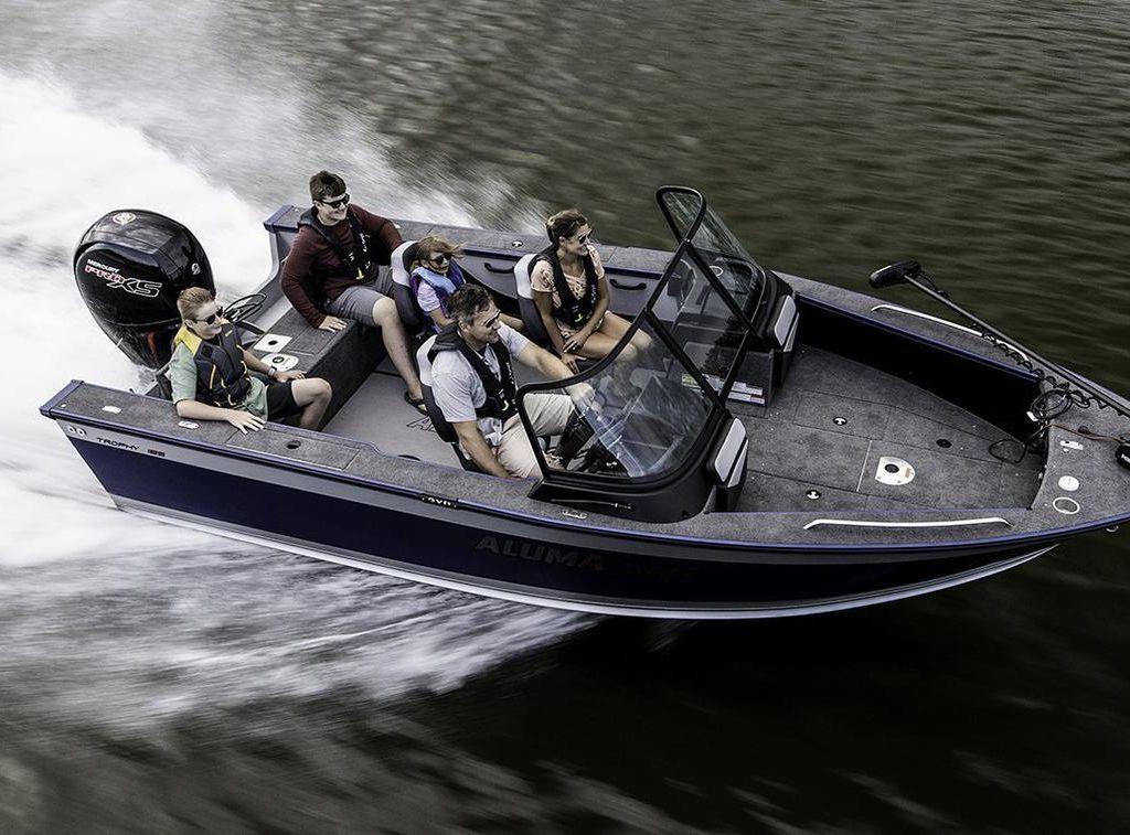 2021 Alumacraft boat for sale, model of the boat is TROPHY 205 & Image # 1 of 5