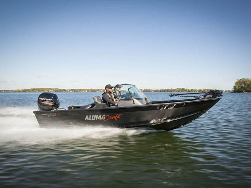 2021 Alumacraft boat for sale, model of the boat is Alumacraft Competitor Shadow 185 Sport & Image # 1 of 4