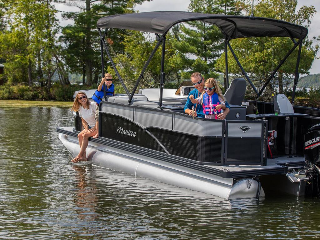 For Sale: 2021 Manitou Pontoon Aurora ft<br/>Energy Powersports