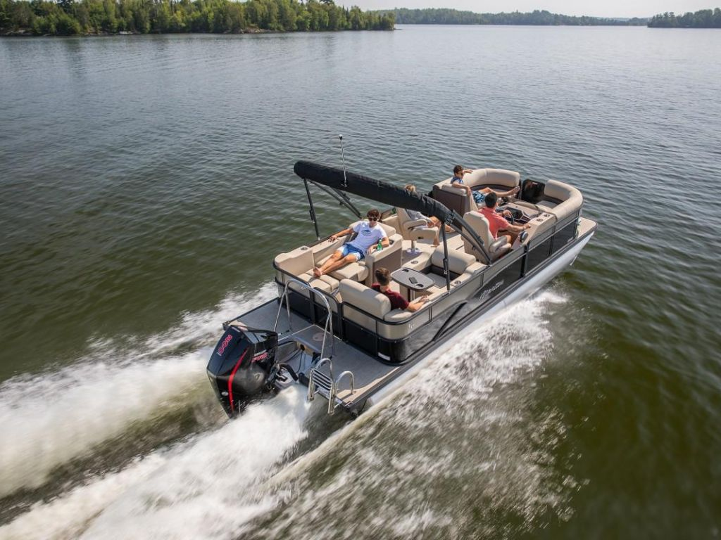 For Sale: 2021 Manitou Pontoon Oasis ft<br/>Energy Powersports