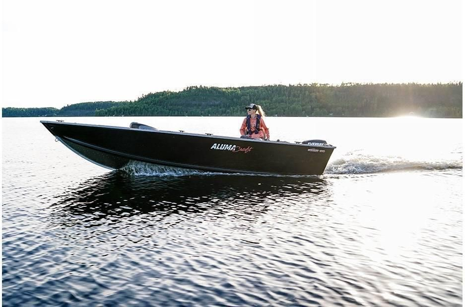 2021 Alumacraft boat for sale, model of the boat is Alumacraft Summit 180 & Image # 2 of 4