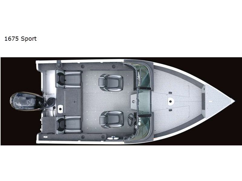 2021 Lund boat for sale, model of the boat is Adventure 1675 Sport & Image # 10 of 19