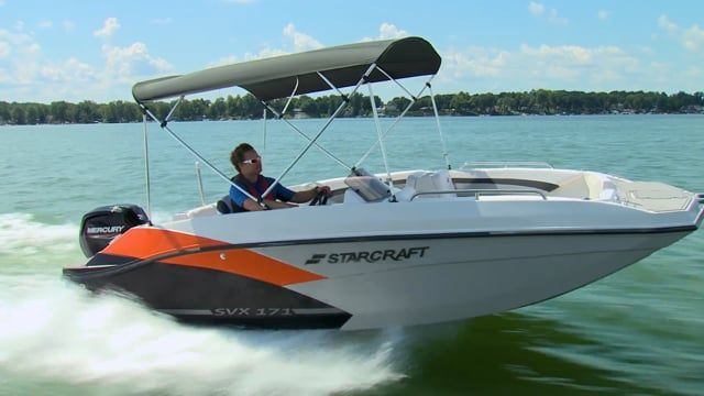 2022 Starcraft boat for sale, model of the boat is STARCRAFT SVX 171 OB & Image # 2 of 6