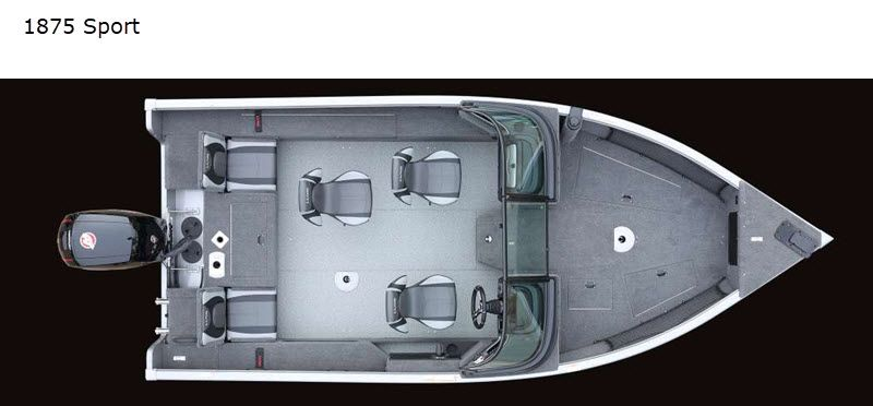 2021 Lund boat for sale, model of the boat is Impact XS 1875 Sport & Image # 2 of 18