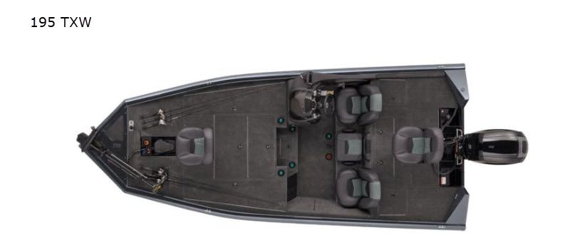 2021 Tracker Boats boat for sale, model of the boat is Pro Team 195 TXW & Image # 2 of 6