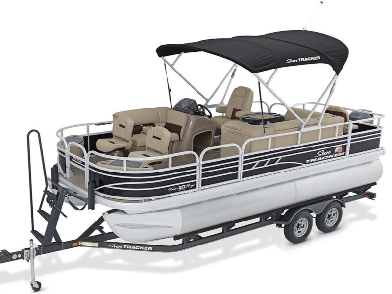 2021 Sun Tracker boat for sale, model of the boat is Fishin Barge 20 DLX & Image # 1 of 6