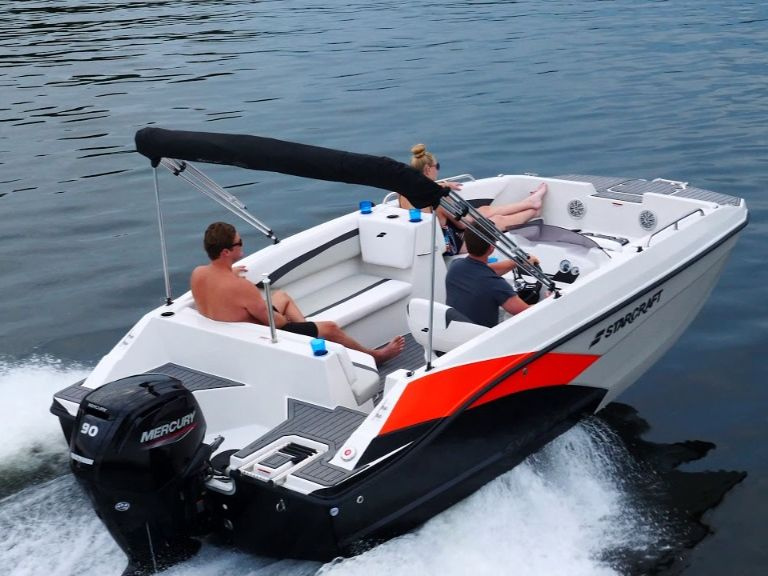 2022 Starcraft boat for sale, model of the boat is STARCRAFT SVX 171 OB & Image # 1 of 6
