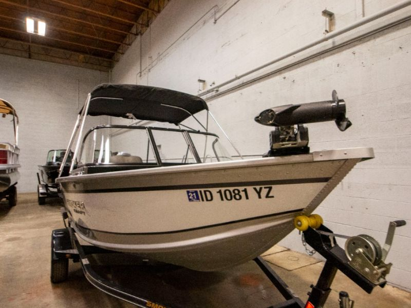 2020 Smoker Craft boat for sale, model of the boat is Pro Angler XL 162 XL & Image # 19 of 20