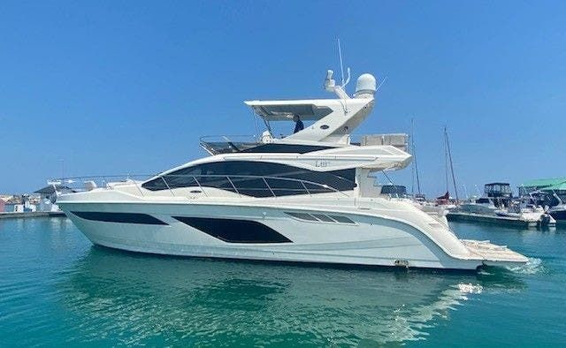 2018 Sea Ray boat for sale, model of the boat is L550FLY & Image # 2 of 41