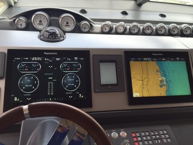 2008 Azimut boat for sale, model of the boat is 62 S & Image # 2 of 55