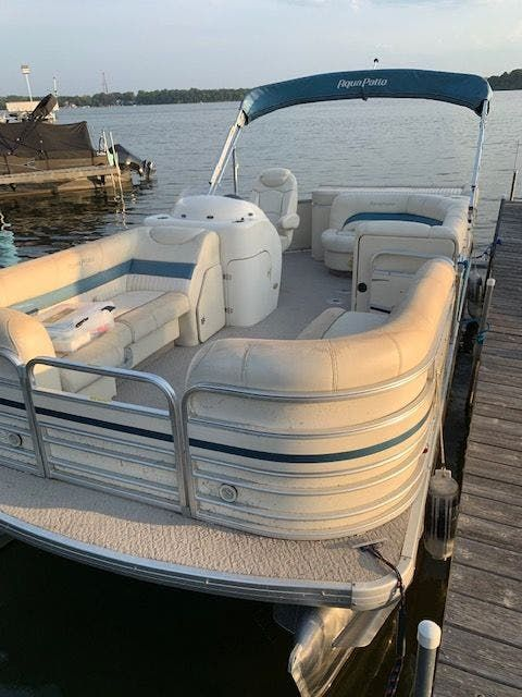 2007 Aqua Patio boat for sale, model of the boat is 180RE & Image # 2 of 34