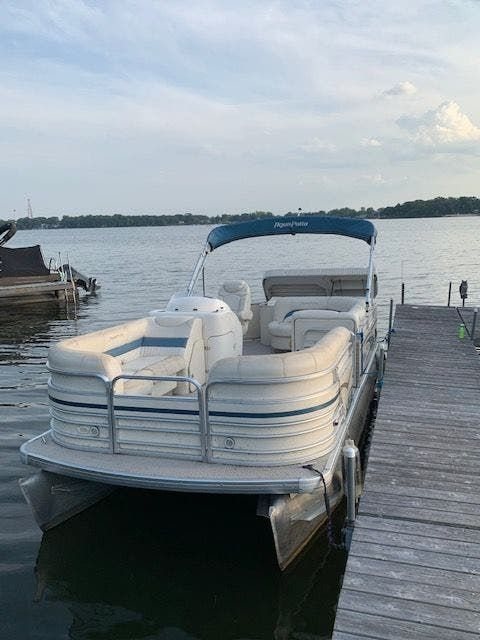 2007 Aqua Patio boat for sale, model of the boat is 180RE & Image # 1 of 34