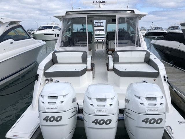 2021 Tiara Yachts boat for sale, model of the boat is 38LX & Image # 2 of 37