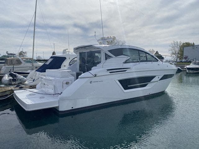 2021 Cruisers Yachts boat for sale, model of the boat is 46CANTIUS & Image # 1 of 27