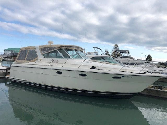 1995 Tiara Yachts boat for sale, model of the boat is 35 EXPRESS & Image # 1 of 33