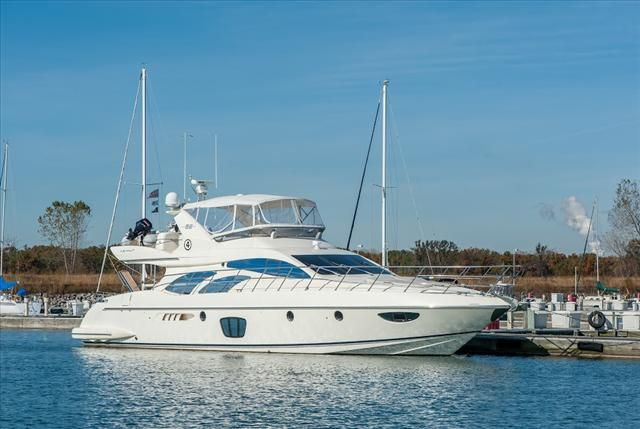 2007 Azimut boat for sale, model of the boat is 62 FLYBRIDGE & Image # 2 of 2
