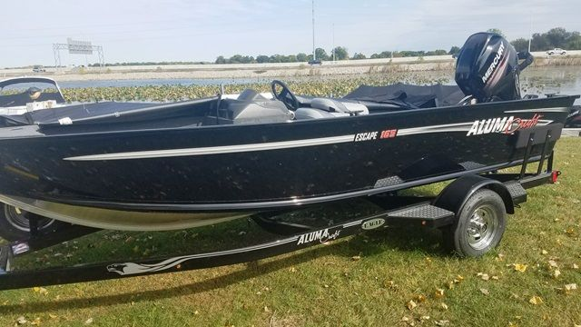 2018 Alumacraft boat for sale, model of the boat is 165 CS & Image # 2 of 2