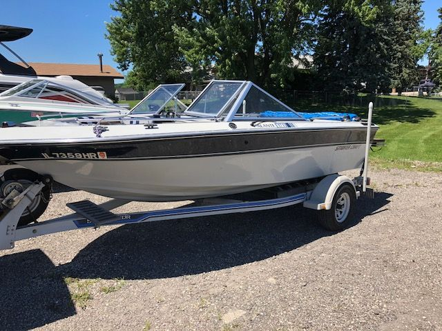 1988 Smoker Craft boat for sale, model of the boat is 171 ALANTE & Image # 1 of 2