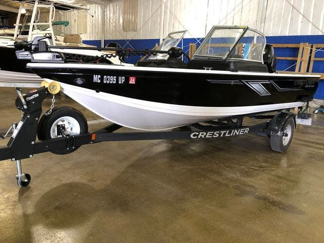 2020 Crestliner boat for sale, model of the boat is 1850 FISHHAWK & Image # 1 of 13