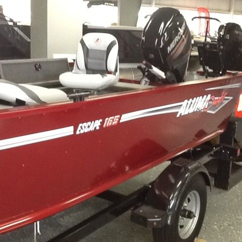 2018 Alumacraft boat for sale, model of the boat is 165 & Image # 2 of 2