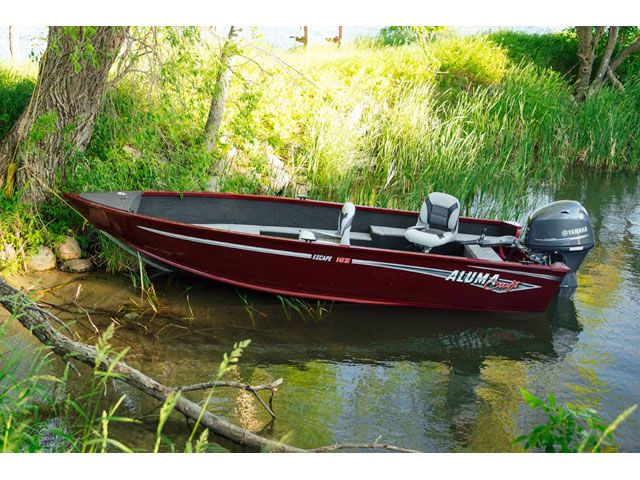 2018 Alumacraft boat for sale, model of the boat is 165 & Image # 1 of 2