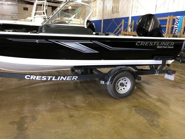 2020 Crestliner boat for sale, model of the boat is 1850 FISHHAWK & Image # 2 of 13