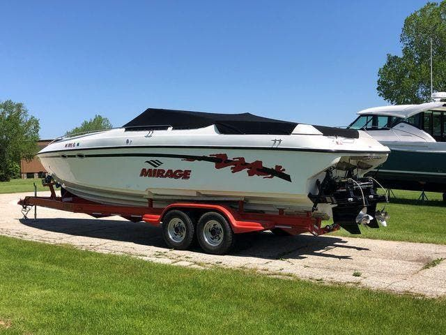 1998 Mirage boat for sale, model of the boat is 314 SZ & Image # 2 of 22