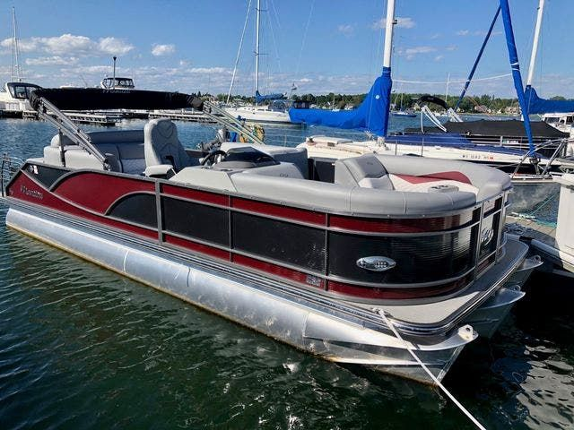 2021 Manitou boat for sale, model of the boat is 23 SES VP & Image # 1 of 22