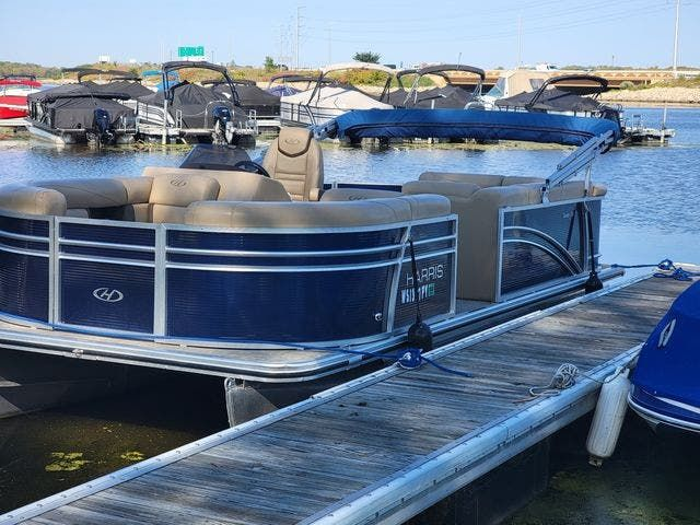2020 Harris boat for sale, model of the boat is 210 CX/CS & Image # 2 of 7