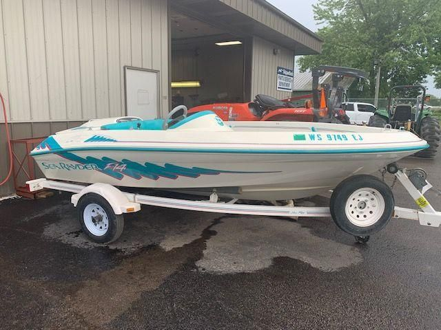 1996 Sea Ray boat for sale, model of the boat is F-14 & Image # 1 of 9