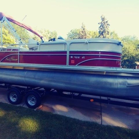 2014 Smoker Craft boat for sale, model of the boat is DS8522SUNCHASER & Image # 1 of 2