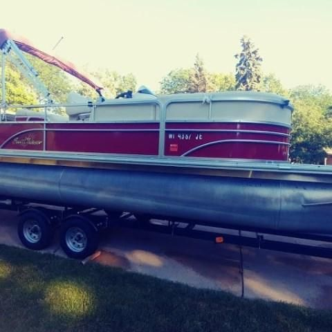 2014 Smoker Craft boat for sale, model of the boat is DS8522SUNCHASER & Image # 1 of 13