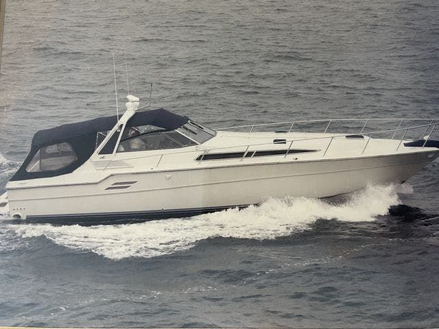 1988 Sea Ray boat for sale, model of the boat is 460EC & Image # 2 of 51