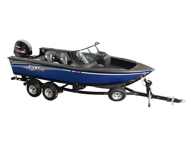 2018 Alumacraft boat for sale, model of the boat is 195 & Image # 1 of 2
