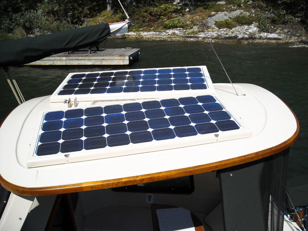 1989 Halman boat for sale, model of the boat is Bluejacket 23 MS Pilothouse & Image # 4 of 10