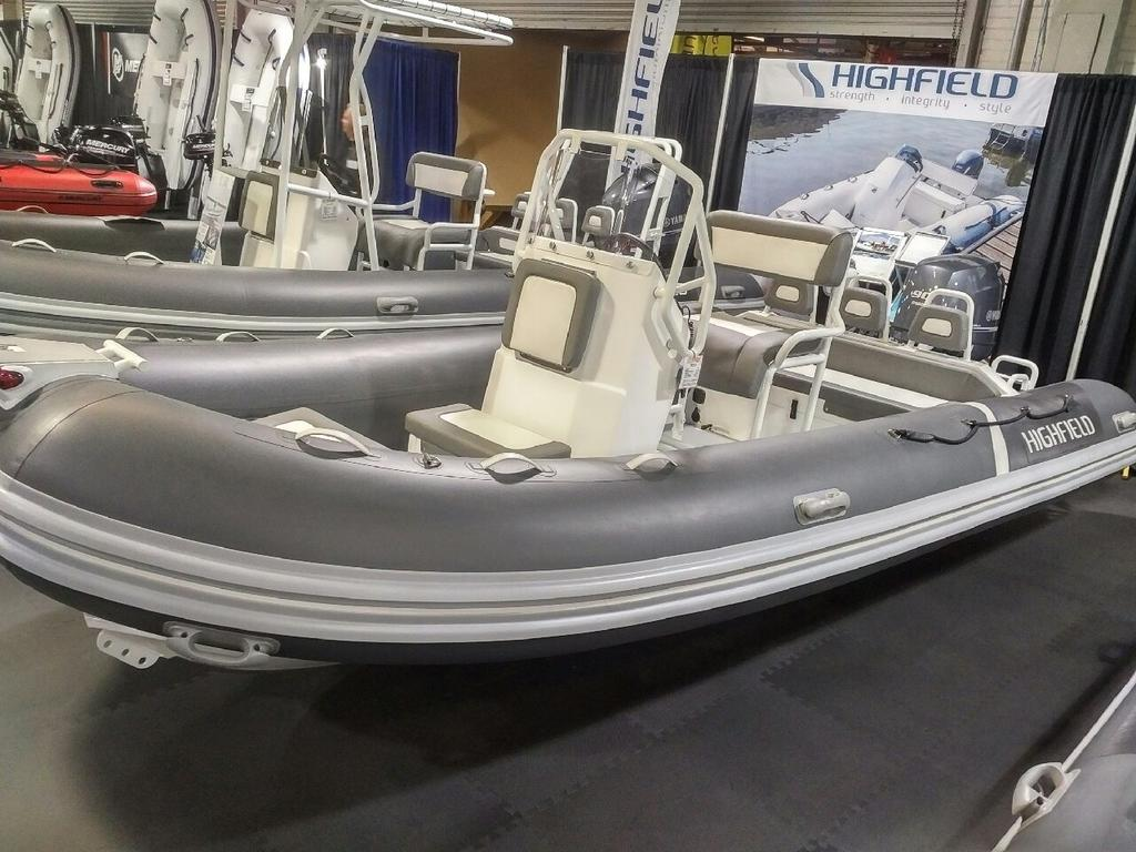 2018 Highfield boat for sale, model of the boat is Ocean Master 540 Deluxe PVC & Image # 4 of 6
