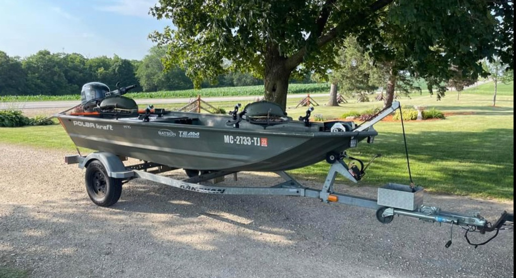 2007 Polar Kraft boat for sale, model of the boat is 1475 & Image # 1 of 4