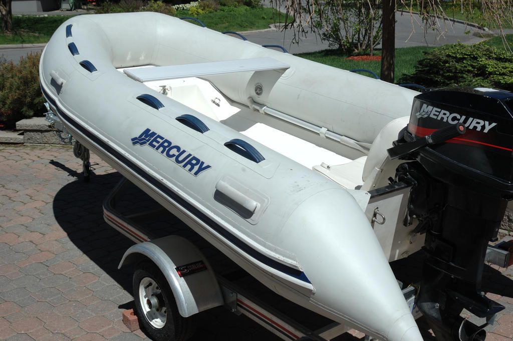 2007 Mercury Inflatables boat for sale, model of the boat is Ocean Runner 330 & Image # 7 of 7