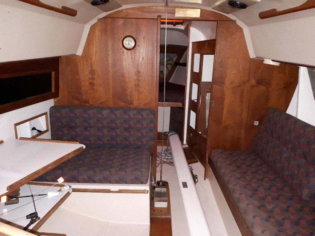 1974 C & C boat for sale, model of the boat is C & C 30 Mk I & Image # 6 of 11
