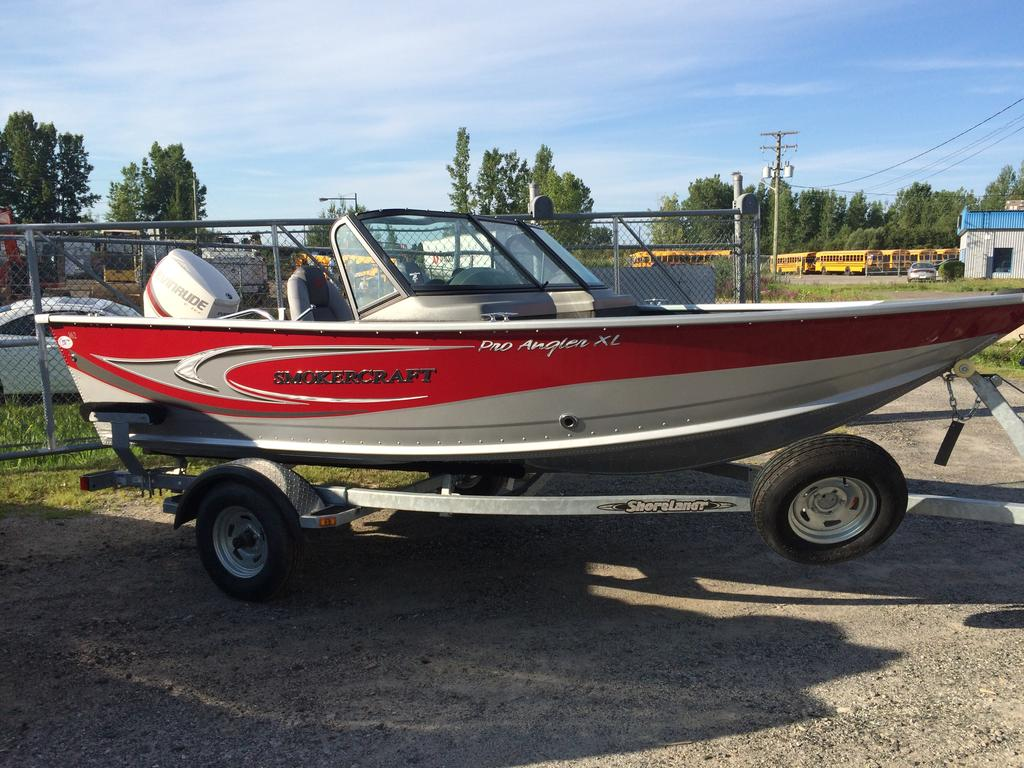 2016 Smoker Craft boat for sale, model of the boat is Pro Angler 162 XL & Image # 8 of 9