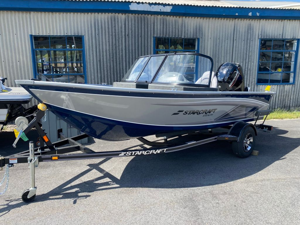 2022 Starcraft boat for sale, model of the boat is Stealth 166 DC & Image # 1 of 9