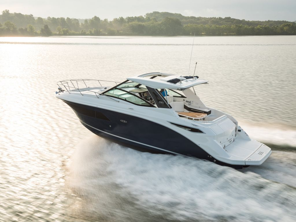 2021 Sea Ray boat for sale, model of the boat is 320 Sundancer & Image # 2 of 24