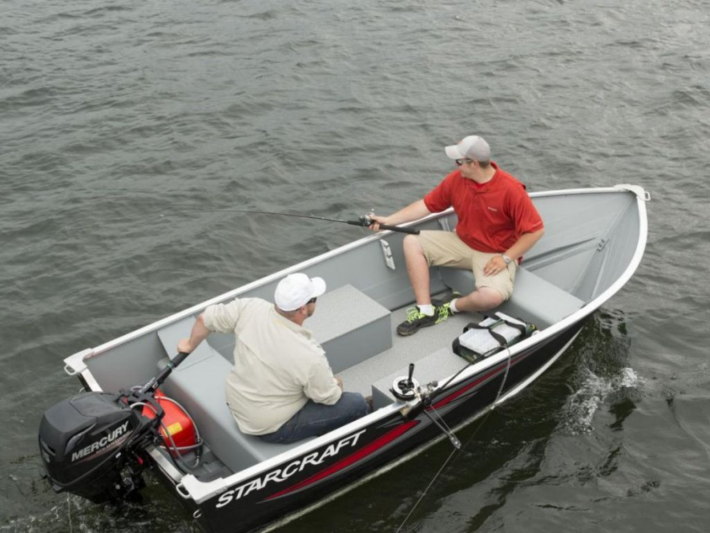2020 Smoker Craft boat for sale, model of the boat is 13 ALASKAN TS DLX SS & Image # 1 of 8
