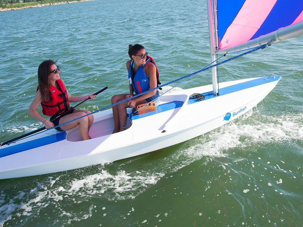 2021 LaserPerformance boat for sale, model of the boat is SUNFISH & Image # 1 of 4